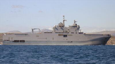 Ελικοπτεροφόρο πλοίο του Γαλλικού Εθνικού Ναυτικού Tonnerre (L9014)