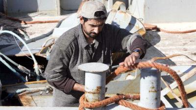 Ψαράδες στη Θεσσαλονίκη - αλιεργάτες