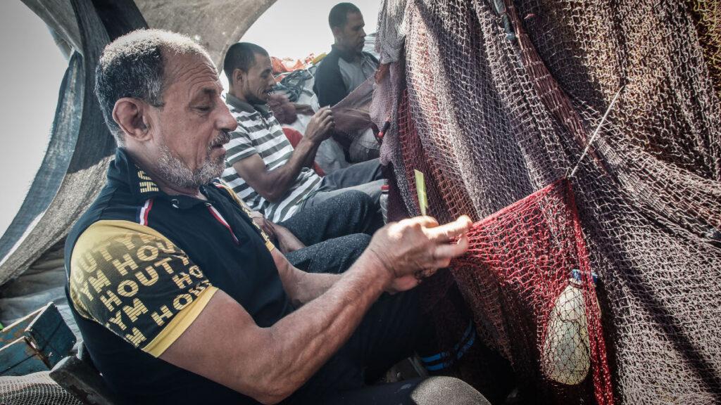 Ψαράδες στη Θεσσαλονίκη - Τράτες - Αλιεργάτες