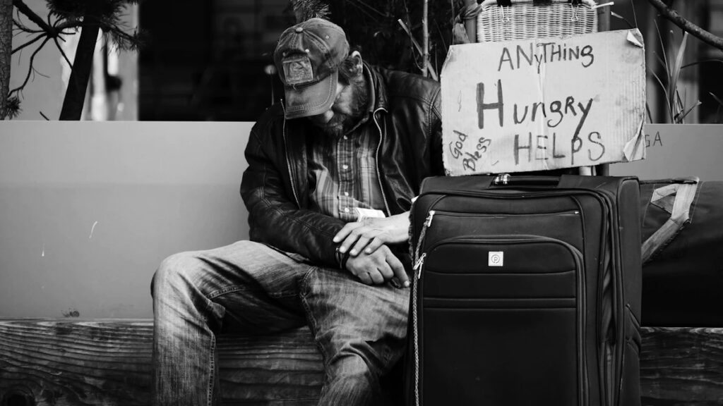 Καπιταλισμός - Φτώχεια - Άστεγος στο Σιάτλ, ΗΠΑ