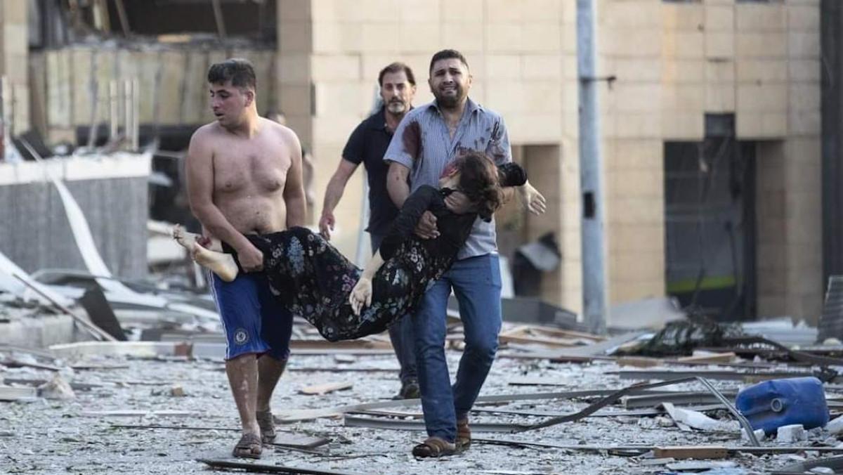 Βηρυτός- Λίβανος- Έκρηξη