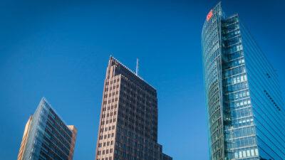 DEUTSCHE BANK- Κτίρια χρηματοοικονομικών επιχειρήσεων στο Βερολίνο, Γερμανία