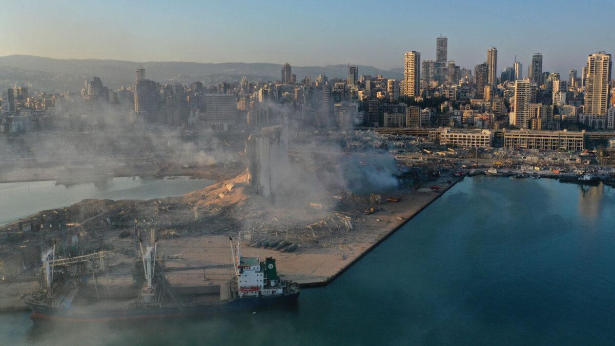 Βηρυτός, Λίβανος - Έκρηξη στο λιμάνι