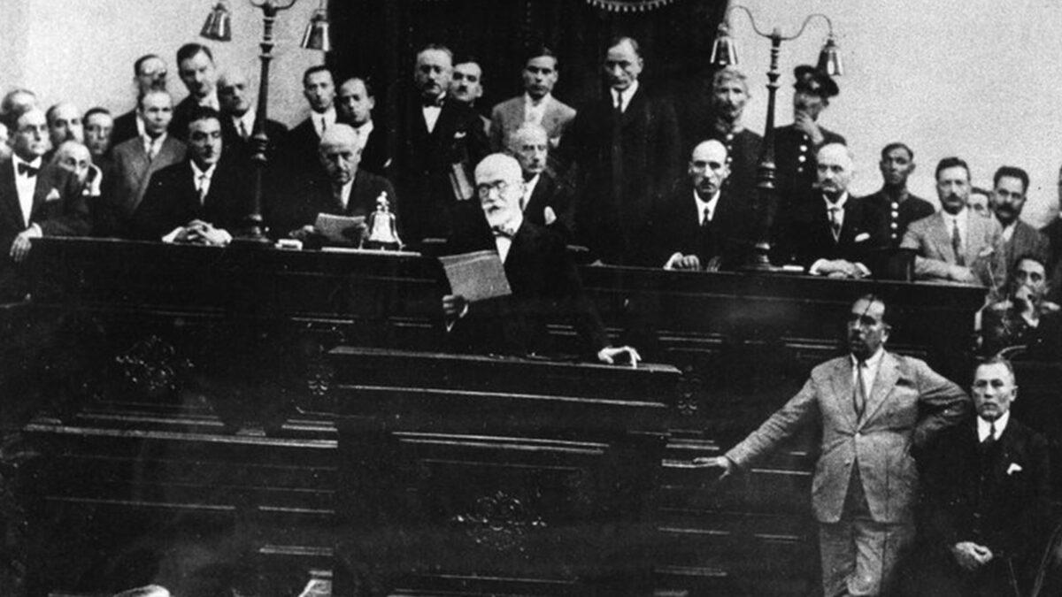 Ελλάδα - πρωθυπουργία - αντικομμουνισμός - Ελευθέριος Βενιζέλος