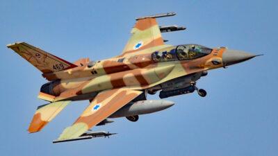 Ισραηλινό μαχητικό F16