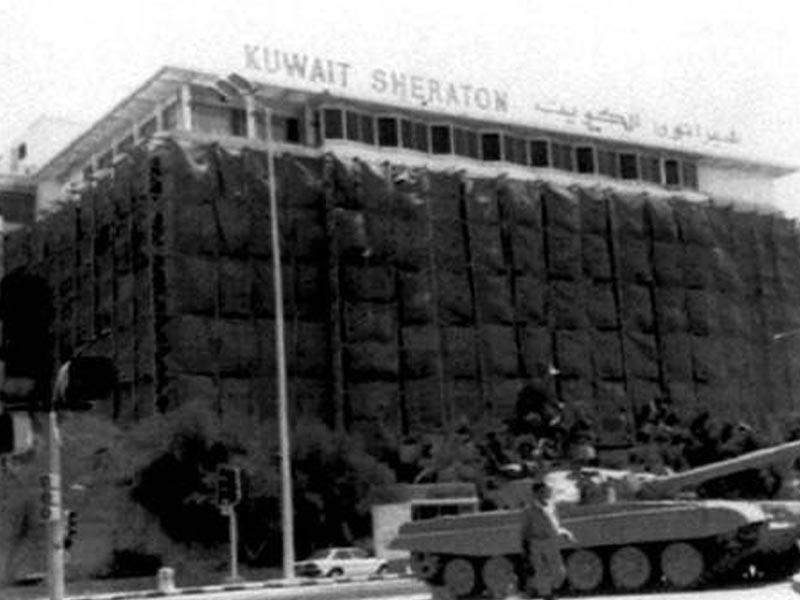 Ιρακινό άρμα στην Πόλη του Κουβέιτ