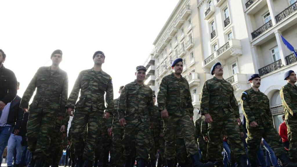 Απο συμμετοχή στρατιωτιώνσε κινητοποίηση στο Σύνταγμα - Αθήνα