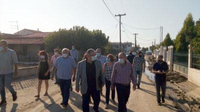 12/8/2020 - Επίσκεψη Δημήτρη Κουτσούμπα στις πληγείσες περιοχές της Εύβοιας