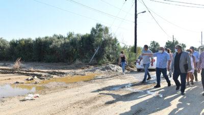 Στις περιοχές της Εύβοιας που βρέθηκαν στο στόχαστρο της καταστροφικής πλημμύρας τα ξημερώματα της Κυριακής 9/8/2020, επισκέφτηκε ο ΓΓ της ΚΕ του ΚΚΕ, Δημήτρης Κουτσούμπας 12/8/2020