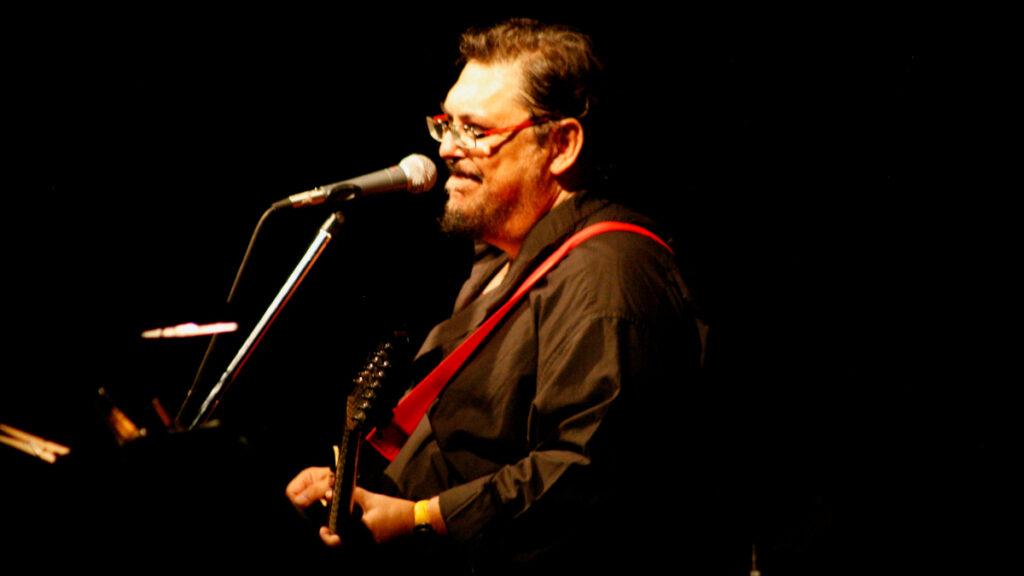 Λαυρέντης Μαχαιρίτσας σε συναυλία το 2013