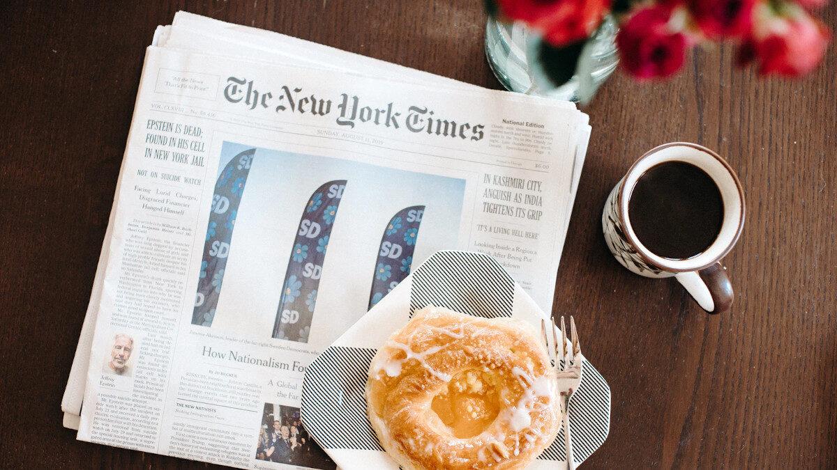 Πρωινό με New York Times - Αμερικάνικος Τύπος