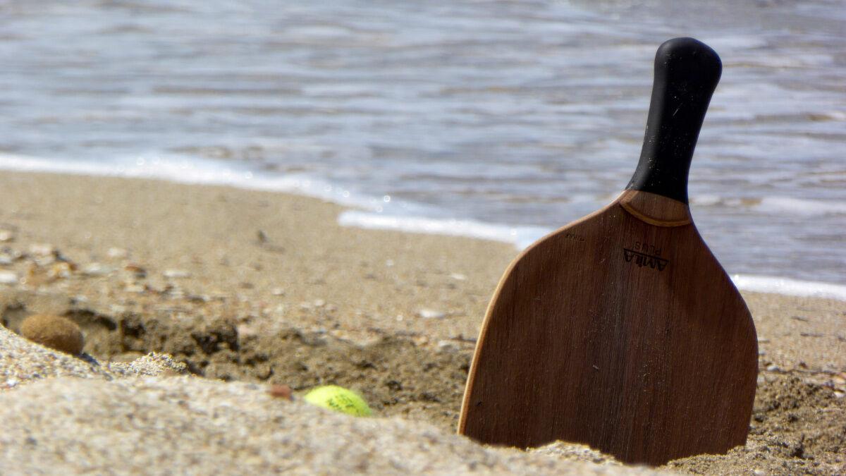 Παραλία - Άμμος - Ρακέτα