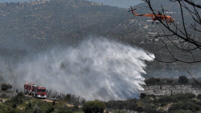 Κατάσβεση πυρκαγιάς στην Επίδαυρο - Πυροσβεστικό Σώμα - 31/7/2020 - Πυροσβεστικά Ελικόπτερα, Αεροπλάνα και Οχήματα