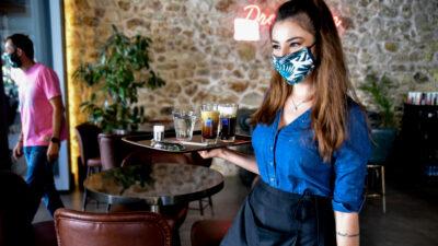 Σερβιτόρα - καφετέρια - Εργαζόμενοι στον επισιτισμό / Πρέβεζα / Αύγουστος 2020