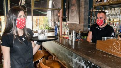 Σερβιτόροι - Σερβιτορα - Μπαρ - καφετέρια - Εργαζόμενοι στον επισιτισμό / Πάτρα / Αύγουστος 2020