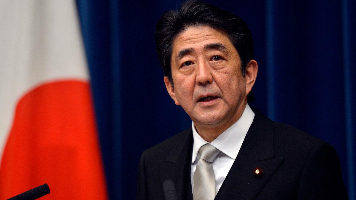 Σίνζο Άμπε, Πρωθυπουργός της Ιαπωνίας