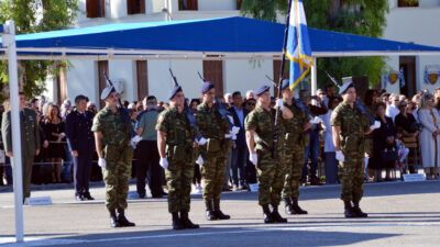Στρατιώτες στη Σημαία- Ναύπλιο