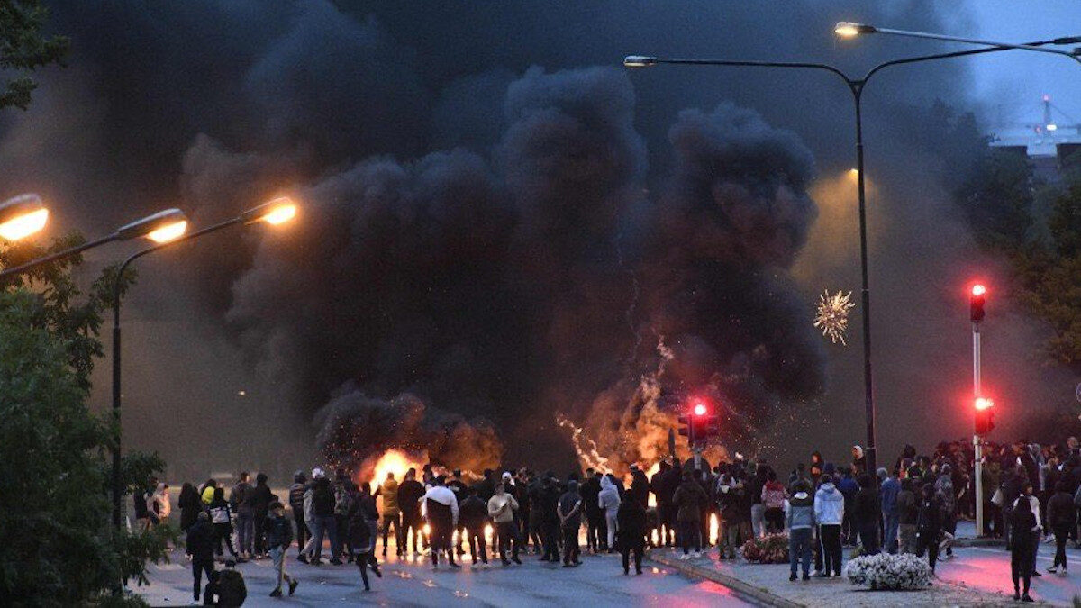 σουηδία διαδηλώσεις