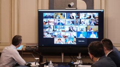 Τηλε-συνεδρίαση του Υπουργικού Συμβουλίου στις 31/7/2020