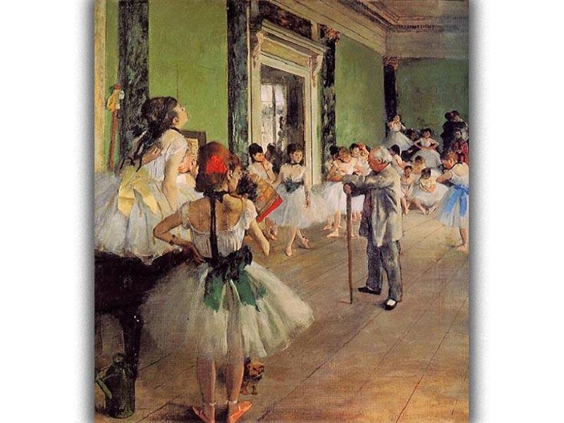 Ντεγκά - Μάθημα χορού