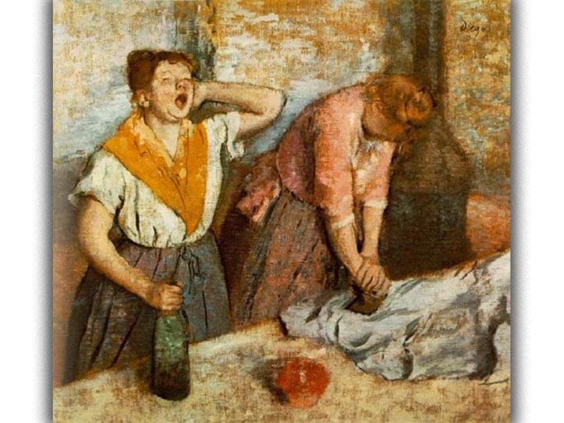 Ντεγκά - Οι σιδερώστρες