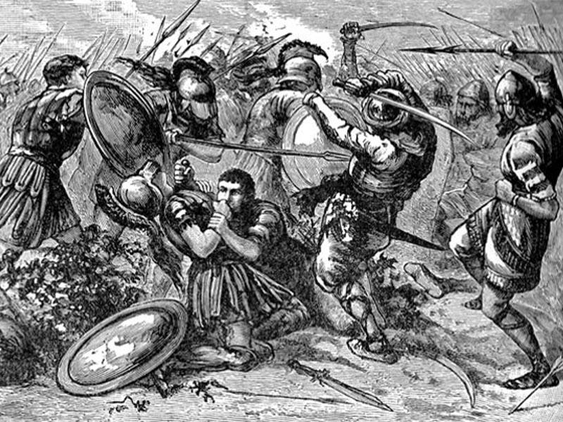 Μάχη στα Κούναξα