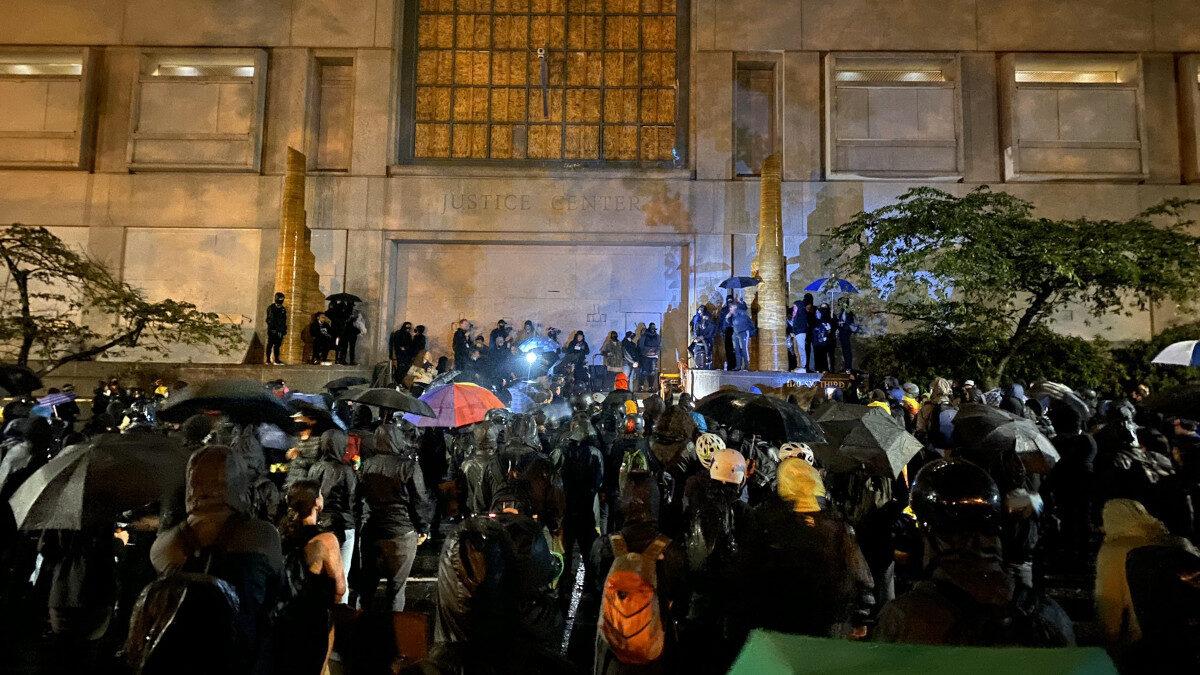 Διαδηλώσεις στο Πόρτλαντ της Αμερικής