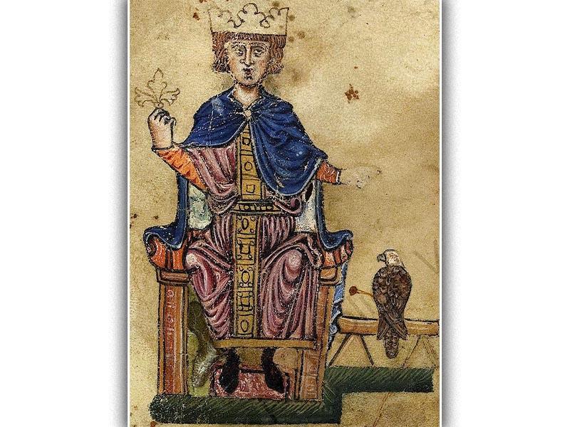 Ο αυτοκράτορας Φρειδερίκος Β΄ Χοενστάουφεν