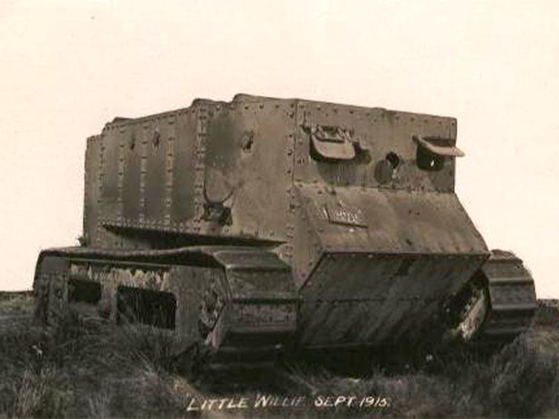 Ο «Μικρός Γουίλι», το πρώτο τανκ που κατασκευάστηκε από τους Βρετανούς