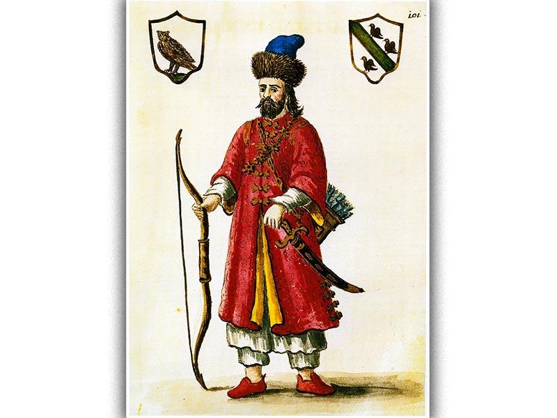 Ο Μάρκο Πόλο φορώντας στολή Τατάρου