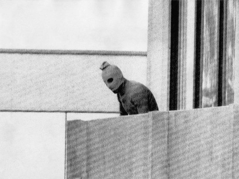 Στιγμιότυπο από την ομηρία στο Μόναχο το 1972