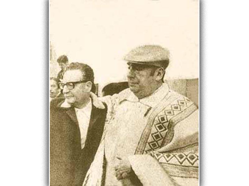 Πολιτισμός - Ποίηση - Πάμπλο Νερούδα - Σαλβαντόρ Αλιέντε