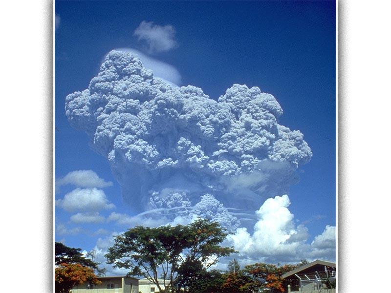 Το Πινατούμπο σε έκρηξη τις 12 Ιουνίου 1991