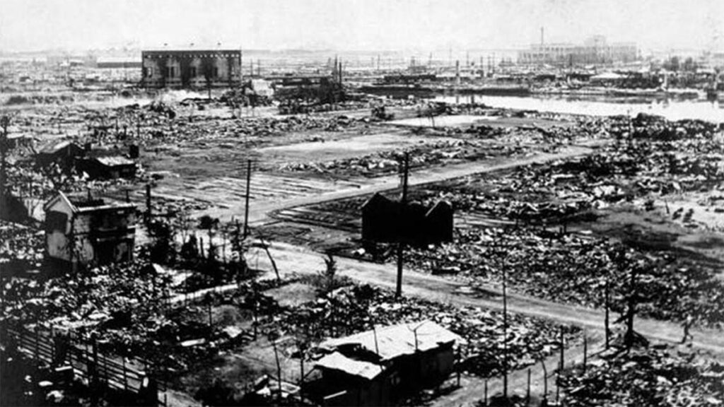 Η Γιοκοχάμα μετά τον σεισμό