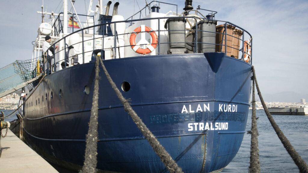 Το πλοίο ALAN KURDI που διασώζει μετανάστες που κινδυνεύουν