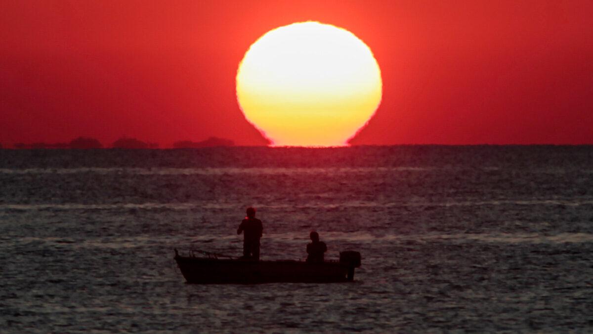 Ανατολή του ήλιου στο Αιγαίο - Σεπτέμβριος 2020