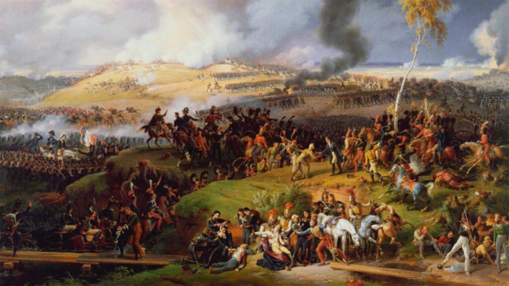 Πίνακας που αποτυπώνει τη μάχη του Μποροντίνο το 1812