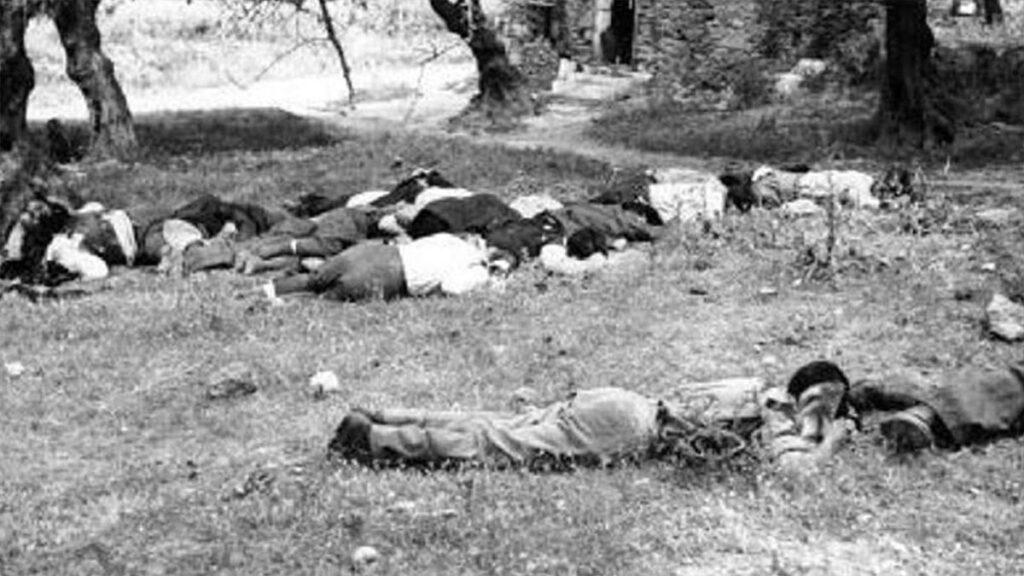 Δολοφονημένοι από τους ναζί, κάτοικοι της Βιάννου