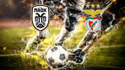 CHAMPIONS LEAGUE - PAOK-BENFICA / 2-1 / 15-9-20 / Πηγή: Eurokinissi