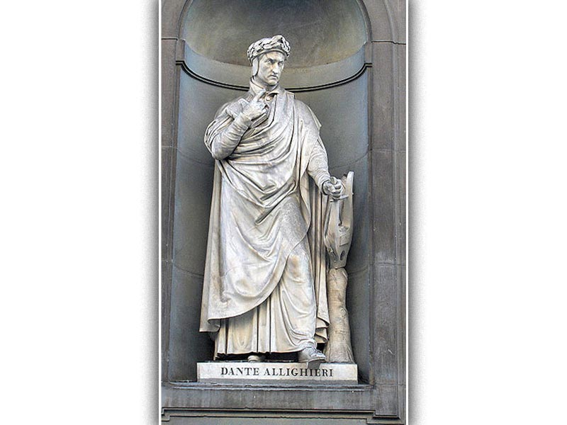 Άγαλμα του Ντάντε Αλιγκιέρι
