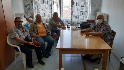 Συνάντηση του ΔΣ των εργαζομένων στο δήμο Λήμνου με συντάκτη του ALT.GR / 20-9-2020