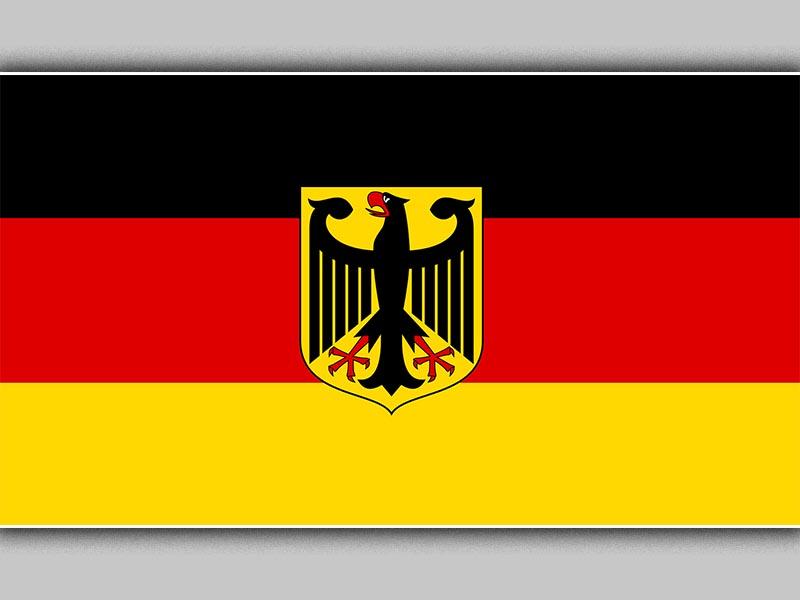 Η σημαία της Ο.Δ. Γερμανίας