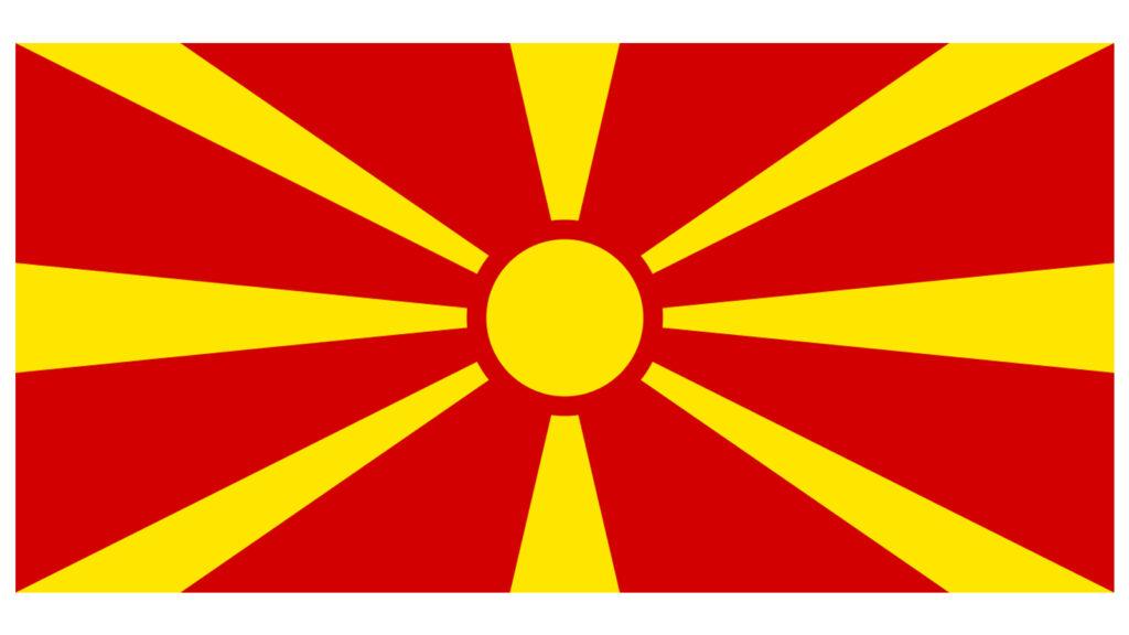 Η σημαία της ΠΓΔΜ, μετά την εφαρμογή της «Ενδιάμεσης Συμφωνίας»