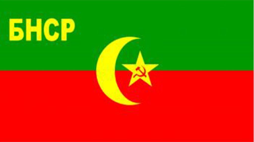 Η σημαία της Λαϊκής Σοβιετικής Δημοκρατίας της Μπουχάρας