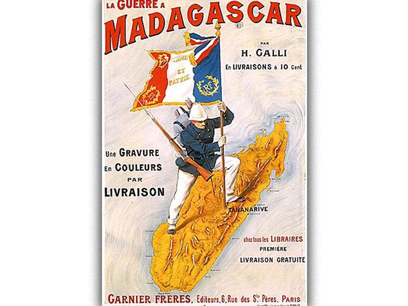 Η Μαδαγασκάρη προτεκτοράτο της Γαλλίας