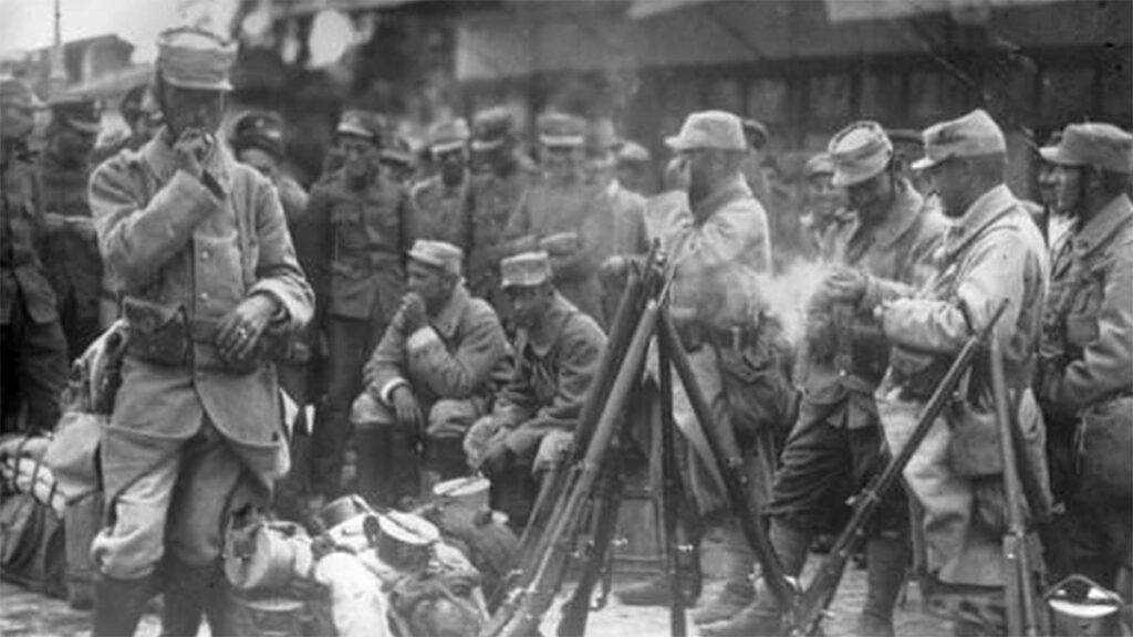 Γάλλοι στρατιώτες στη Θεσσαλονίκη