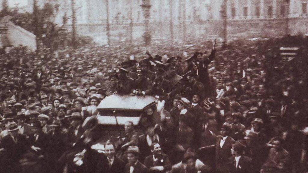 Στρατιωτικό πραξικόπημα στην Αργεντινή του Χ. Φ. Ουριμπούρου.