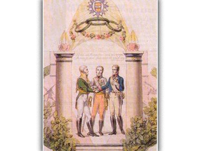 Ενώσεις αστικών κρατών - «Ιερά Συμμαχία»
