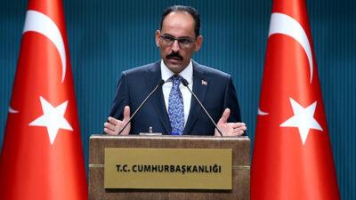 Ιμπραχίμ Καλίν, εκπρόσωπος της τουρκικής προεδρίας
