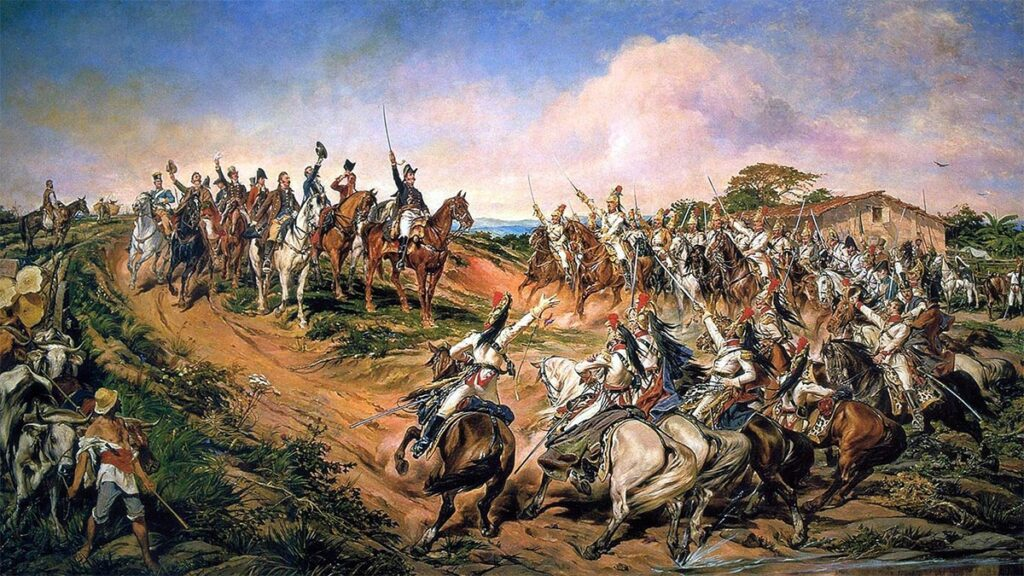 Η ανακήρυξη της ανεξαρτησίας της Βραζιλίας